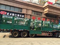 自动排焊机,2D成型机发往新疆和田