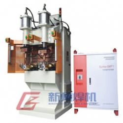 青岛压缩机接线端子、吸气管中频焊机DMW-2×250-2